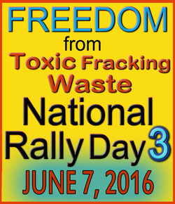 Freedom From Toxic Fracking Waste