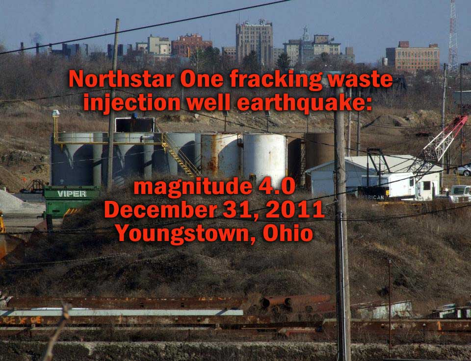 December 27, 2018 at 2pm - Brookfield Prayer Vigil 7th Anniversary of 4.0 Ohio Earthquake induced by fracking waste injection well